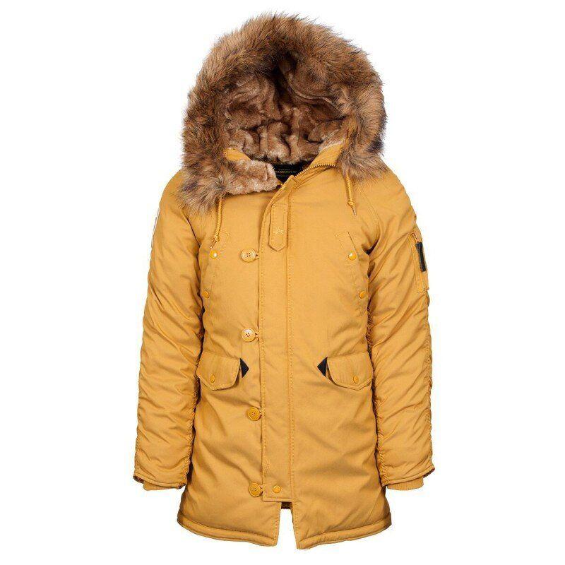 Зимняя женская куртка аляска Alpha Industries Altitude W Parka (Tumbleweed) Klost