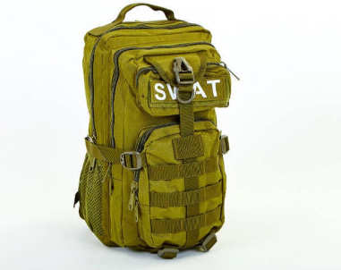 Рюкзак Silver Knight SER-SWAT3P 01 Khaki Klost