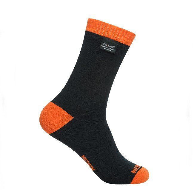 Водонепроницаемые носки Dexshell Thermlite Orange, Klost